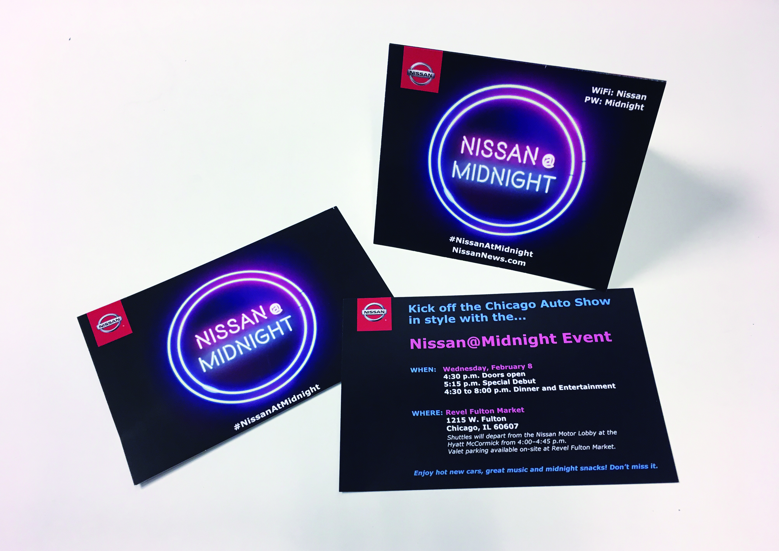 NISSAN @ MIDNIGHT EVENT DESIGN
