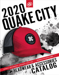 Quake City Caps Catalog